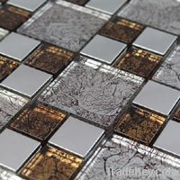 Backsplash Mosaic Tile (Stainless Steel)