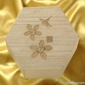 Laser cut wood craft