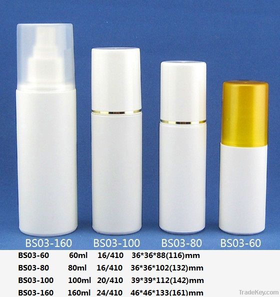 60ml 80ml 100ml 160 ml Spray bottle with over cap