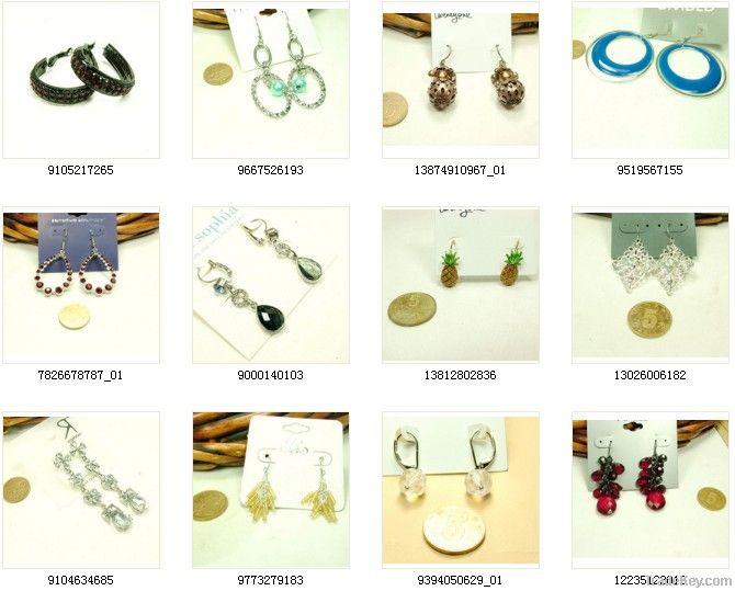 Fashion Jewelry Vintage Alloy Silver Women's  Earrings