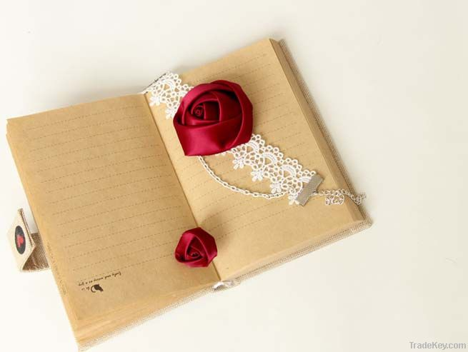 Charming Rose Ring with White Lace Bracelets