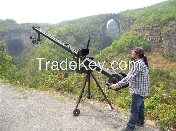 Hot selling 12m Jimmy Jib Camera Crane