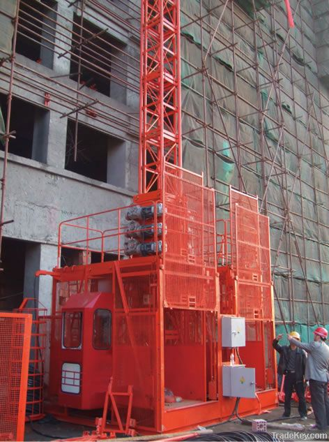 Construction Building Hoist 2*2000kg