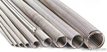 stainless steel corrugated flexible tube hose pipe for industrial purp