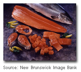 Canadian Atlantic and Pacific seafood species