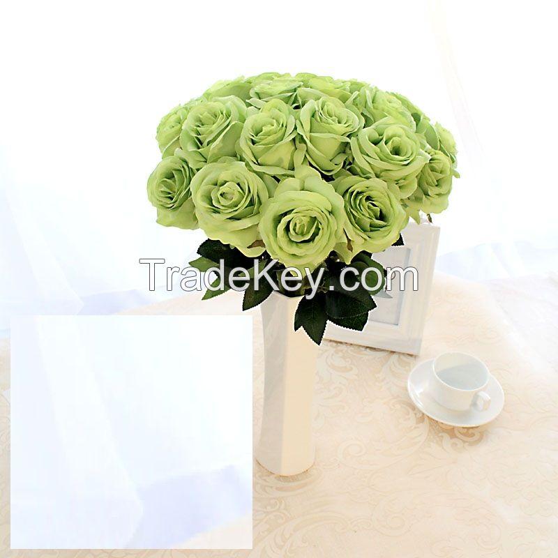 artificial flower rose wedding bouquet decoration flower