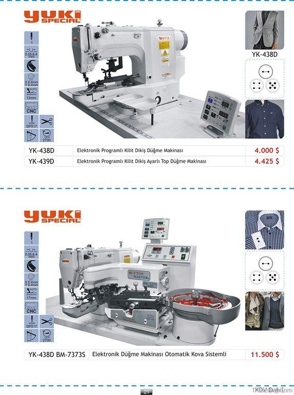 Yuki Special Electronic Button Making Machine