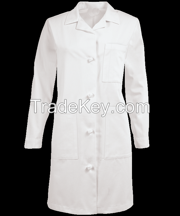 ladies white coat