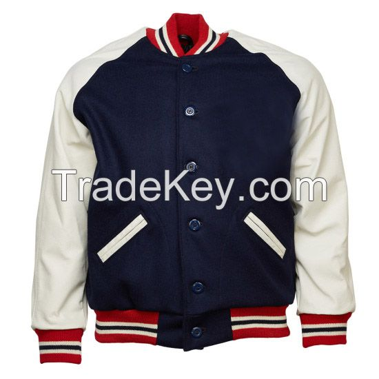 wholesale blank baseball jacket