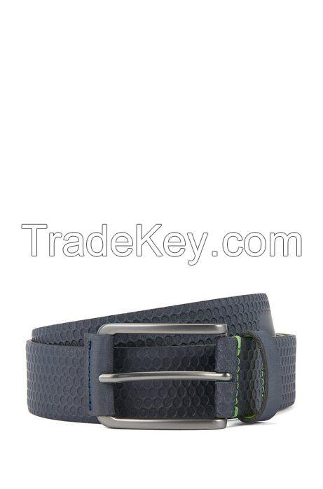 wholesale pin buckle brown men's style belt genuine leather belt fashion belts for mens