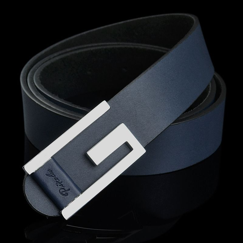 New arrival men's cowhide genuine leather belt for jeans