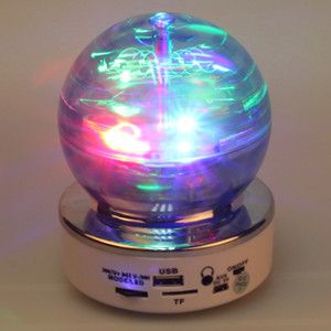 SK#70--Digital Mini Speaker with Radio/USB/Micro SD Card, LED rotating light