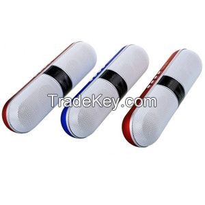 New Pills Wireless Bluetooth Speaker with USB/TF/FM Radio/LED colorful light