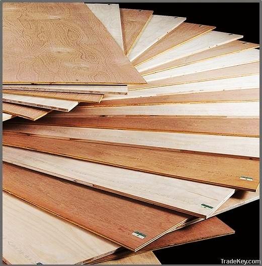 Hardwood Core Veneer Plywood (commercial)