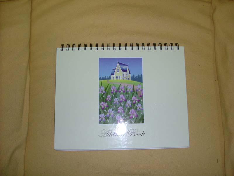 notebook, diary, notepad, memo, etc