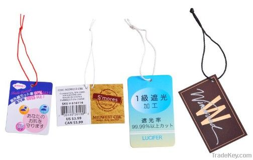 Garment/Clothing Hang Tag/Swing Tag Printing