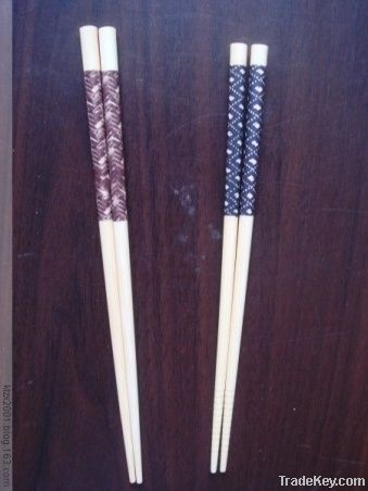 2.11.11 Singles two pairs of bamboo paint chopsticks