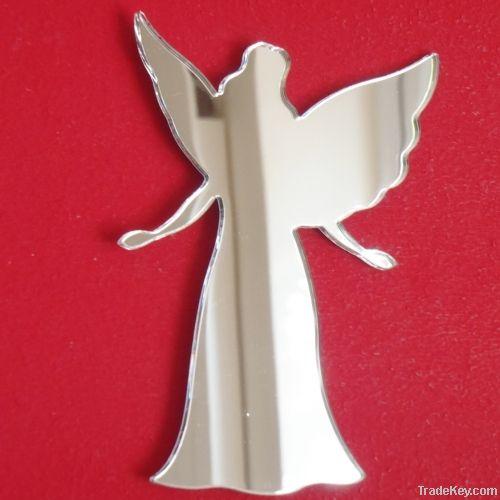 Christmas Theme Decorative Mirror Stickers