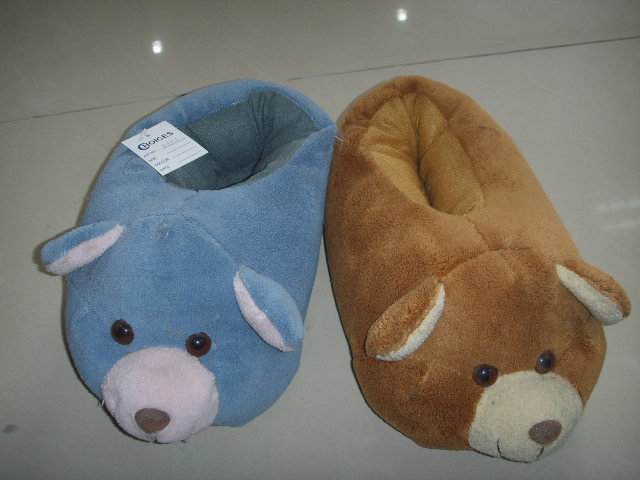 animal slippers,indoor slippers and TPR OUTSOLE KIDS SHOES