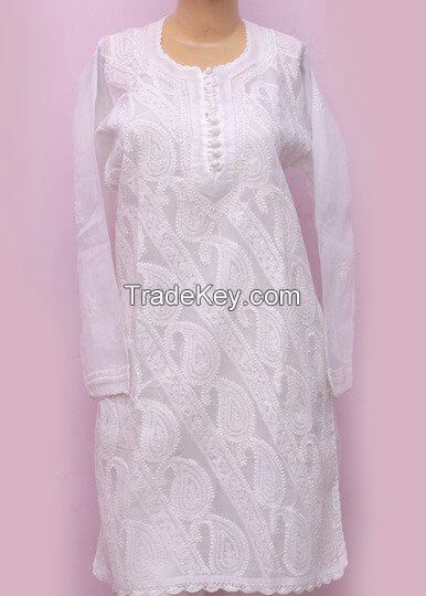 for all types of Indian ethnic lucknowi chicken and other garments for regular supply