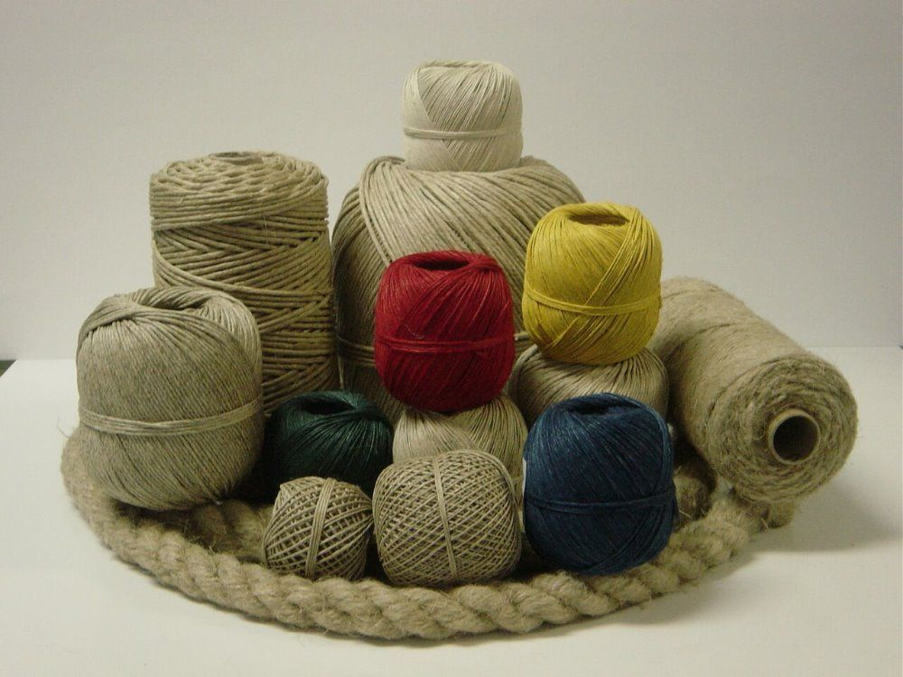 Dye and Color full Jute Yarn and Twine