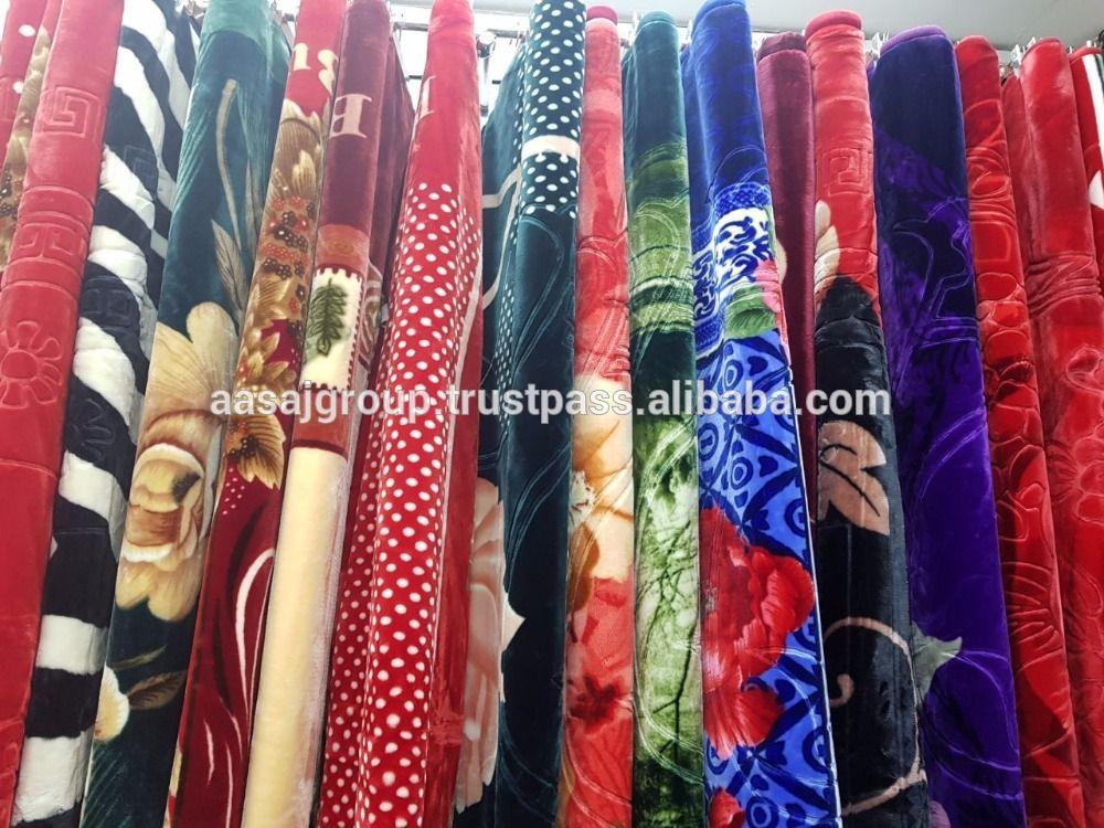 Mink Blanket, Single Blanket Single Ply Fleece Polar warm, Coral blanket Queen size