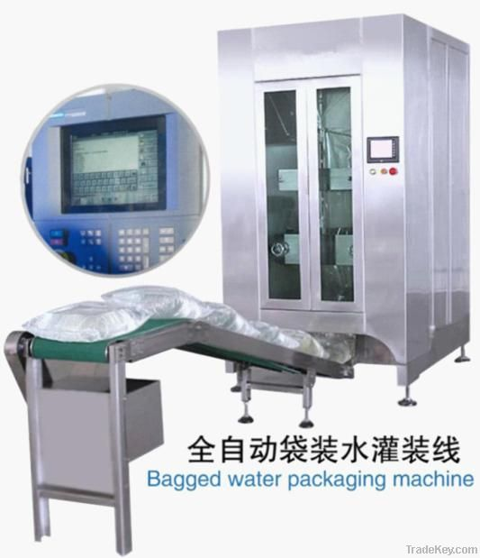 Automatic Bagged Water Filling and Packing Line