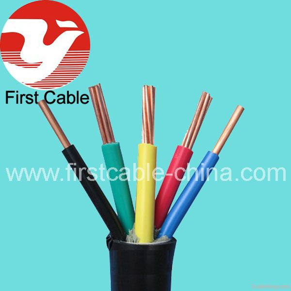 copper conductor control cable