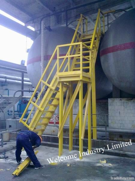 FRP pipes/ gratings