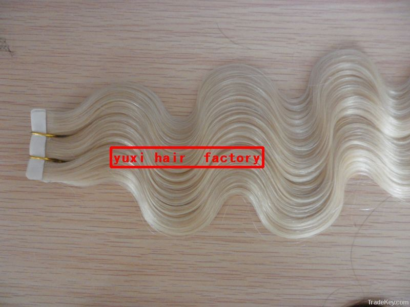 luxury quality fashion cheap tape hair extensions