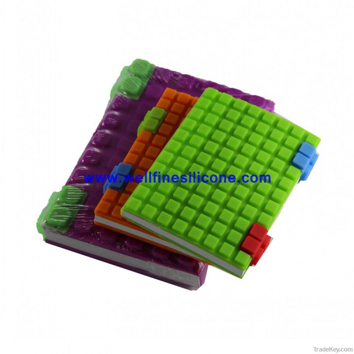 2012 Mini Promotional Best-Seller Silicone Notebook Cover in A7 Size