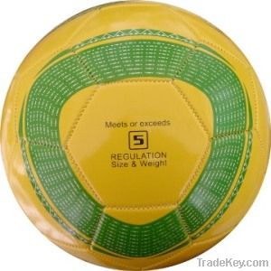 Top quality PU leather laminated football