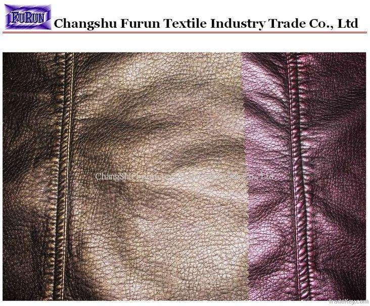 garment pu washed leather, synthetic leather, Imitation Leather