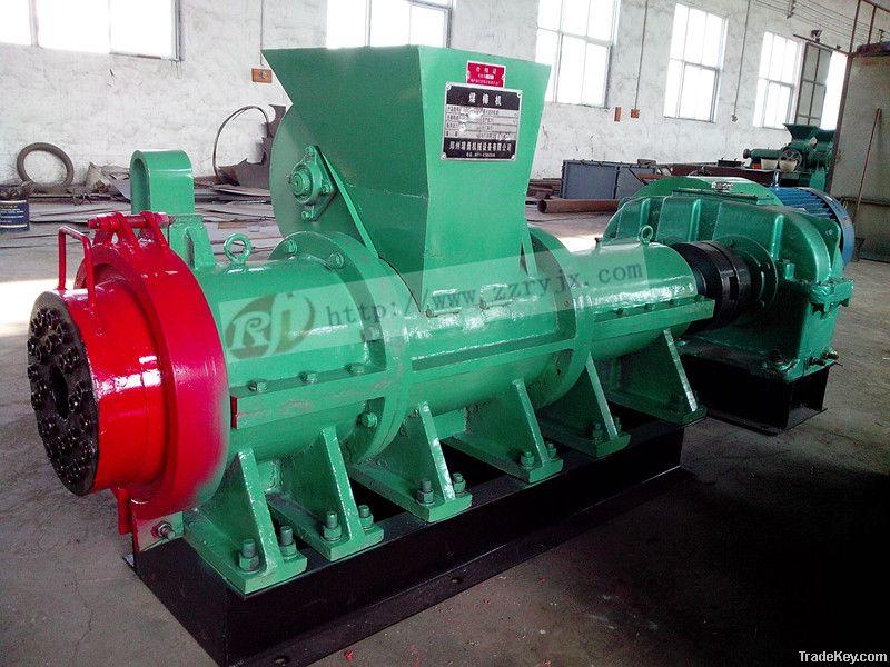 China lead supplier for coal briquette machine