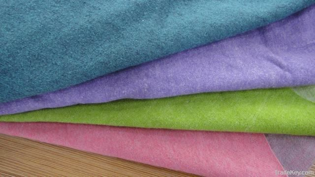 Woolen Fabric, Two-color fabric, Boiled Wool Fabric