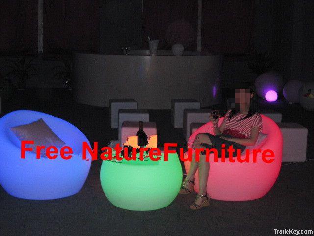 PE LED Hotel Sofa