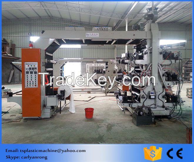 Multicolour High Speed Flexo Printing Machine for Vest Bag and Flat bag(YT-4600)