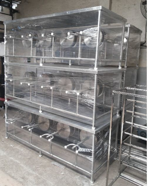 Stainless Steel dining table - ready stock