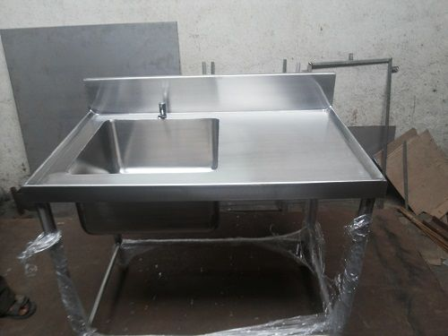Stainless Steel Sink with Table