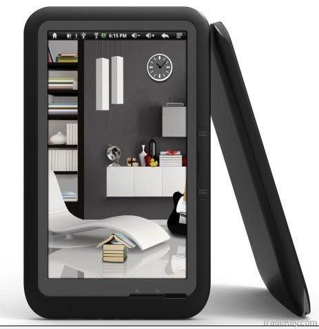 7' TFT Touch Screen eBook Reader with Android