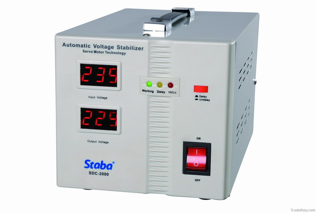 140~260V Input Relay Type Automatic Voltage Regulator, CE approval