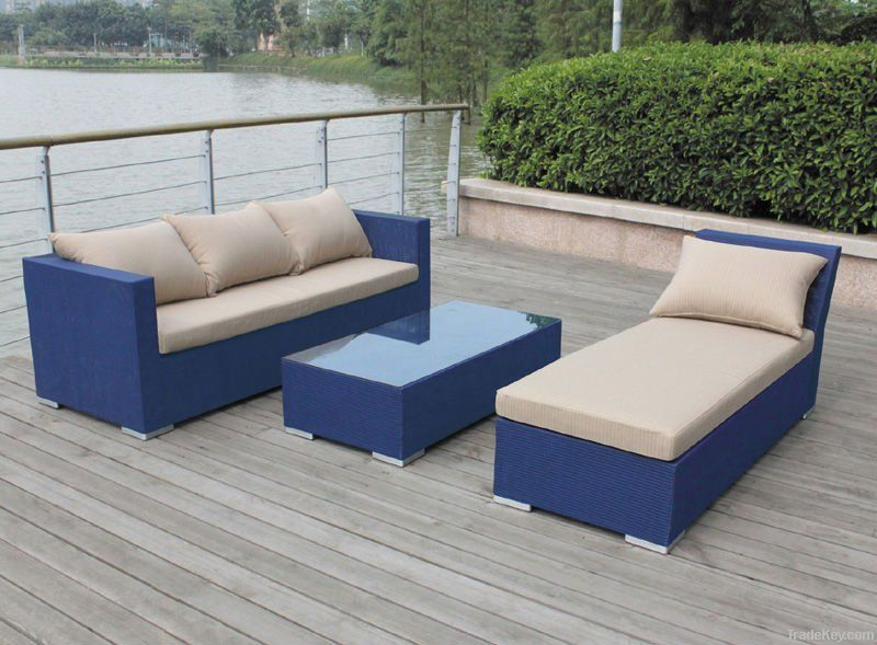 3pcs textilene sofa set