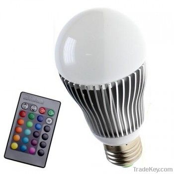 3W5W/7W/9W E27/E14/E12 110v Led bulb light Dimmer RGB Lamp high qualit
