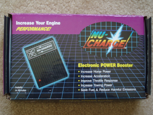 Nu Charge Electronic Power Booster for Cars And Trucks
