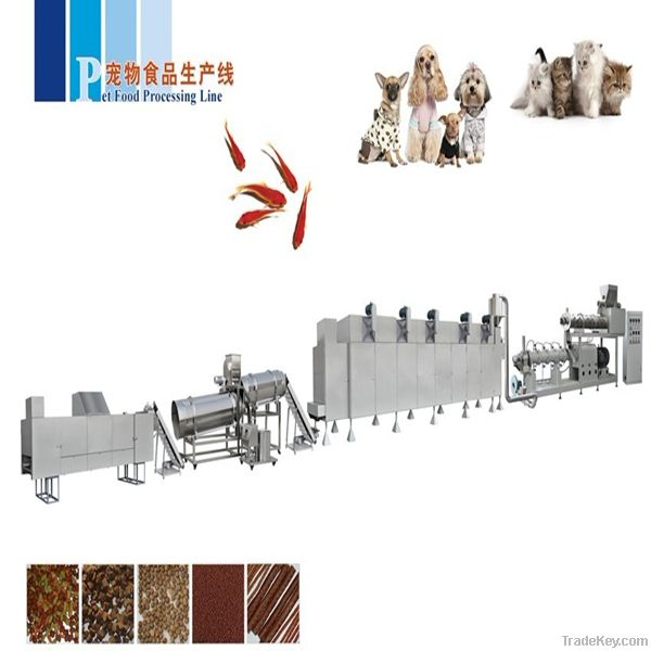 Complete Pet Food Macking Machinery