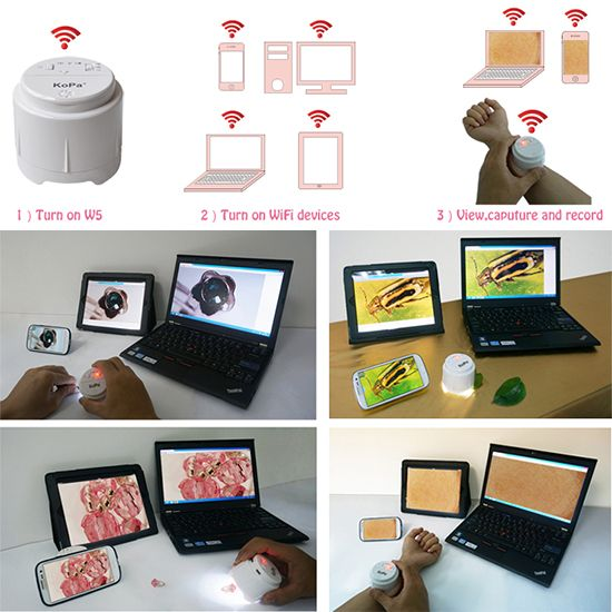Educational Market -WiFi Microscope for iPhone, iPad, Android, tablet, PC