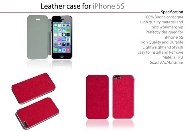 Newest Flip Case For Iphone 5s
