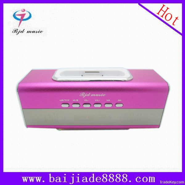 Mini Digital Speaker for Mp3, Mp4, Iphonewith LED Display