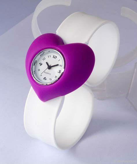 Promotional Detachable Slap on Wrist Watches