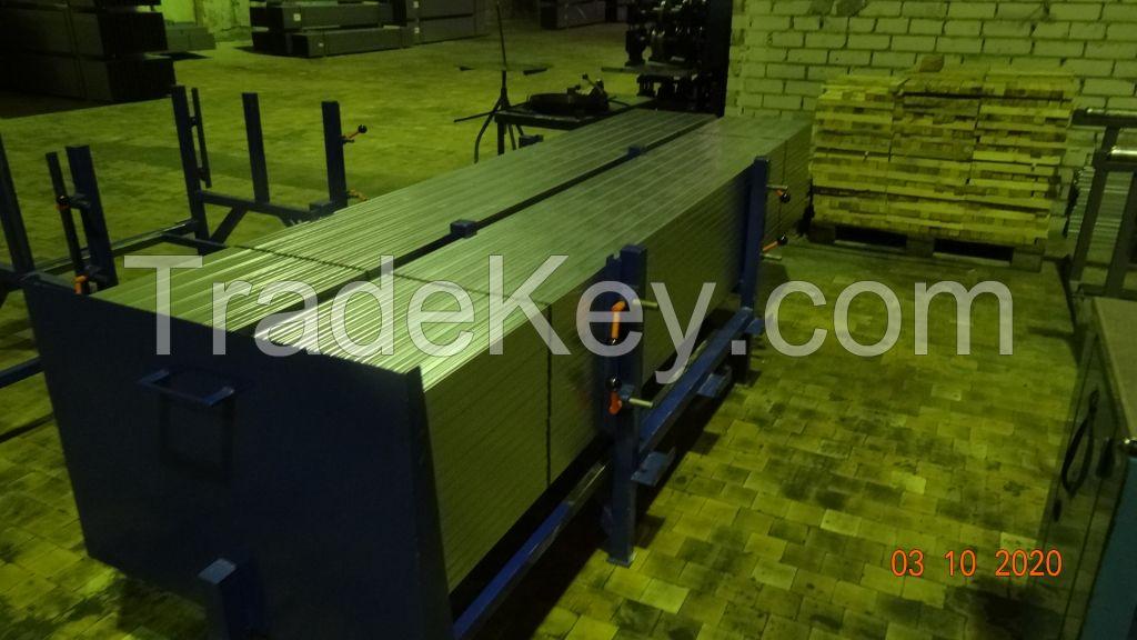 Roll forming machine CD; UD; CW; UW; UA.